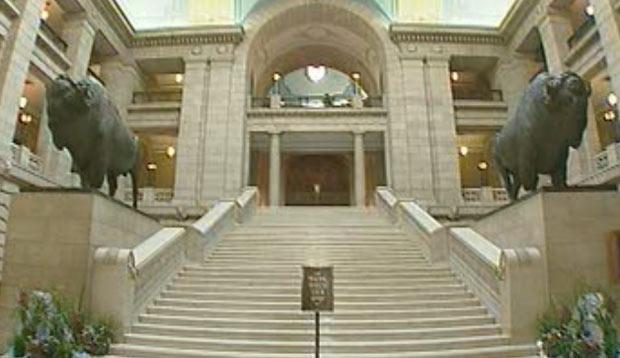 Interior of Manitoba legislature