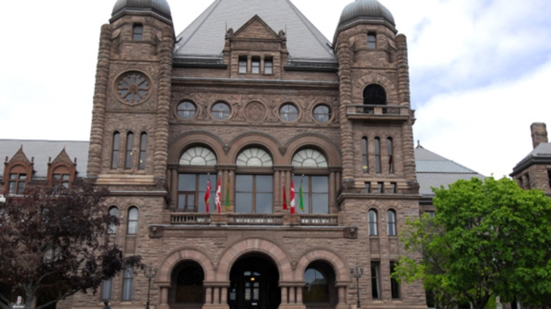 Queen's Park in downtown Toronto is seen in this undated file photo.
