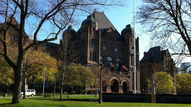 Queen's Park is seen here in this file photo.