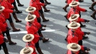 Lines of marching RCMP officers are seen in this file image. (Pedro Lopez)