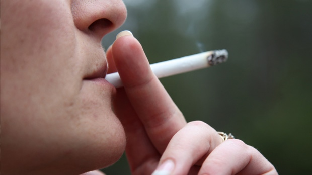 The University of Manitoba says the province spends an additional $244 million on health care for smokers per year. (file image)