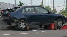 The driver of the car involved in the crash that killed two people on Sunday, June 27, 2010 faces charges of criminal negligence causing death.