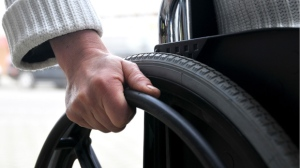 File image of a wheelchair.