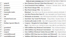 email spam junk mail