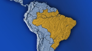 A man broke into a house in southeastern Brazil and killed his wife, son and at least 10 others, according to police.