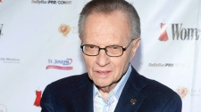 TV Personality Larry King attends the Woman's Day 6th annual 'Red Dress Awards' benefiting The Larry King Cardiac Foundation in New York on Feb. 11, 2009.  (AP / Peter Kramer)
