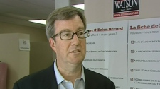 Mayoral candidate Jim Watson speaks out against Larry O'Brien's record, Wednesday, June 30, 2010.