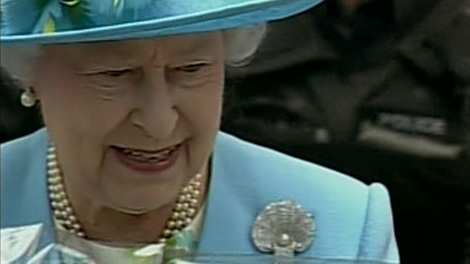 The Queen arrives in Ottawa for the second part of her Canadian tour, Wednesday, June 30, 2010.