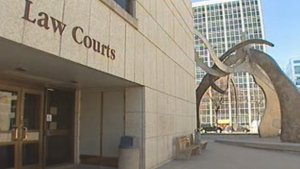 Law Courts in Winnipeg (file image).