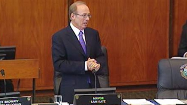 Mayor Sam Katz is seen in this file image.