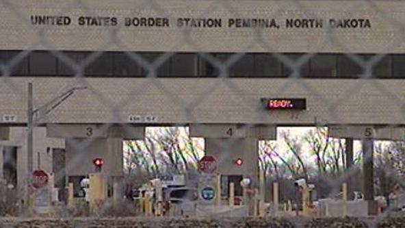 Pembina border crossing