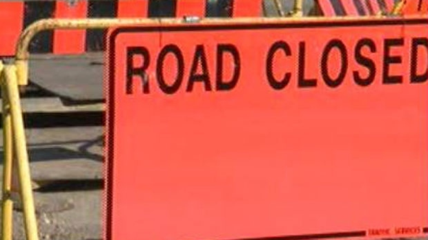 Road closed file
