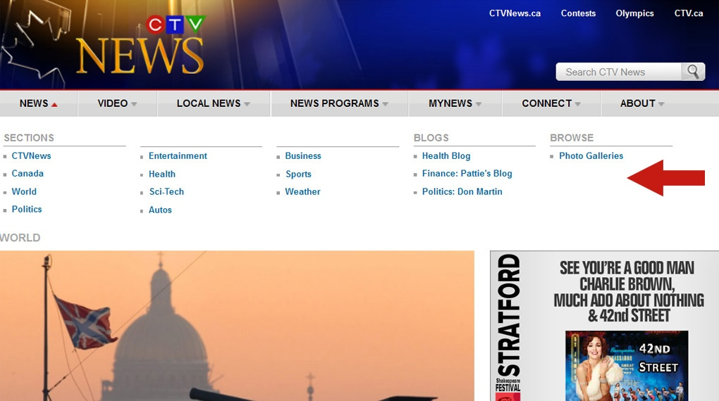 Red Deer Dump >> Tour the New CTVNews.ca | CTV News