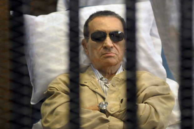 Mubarak watched Egypt's uprising live