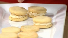 Rosehip Cream Sandwich Cookies