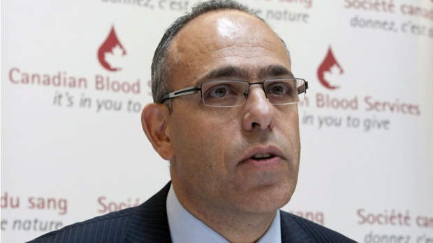 Canadian Blood Services Graham Sher