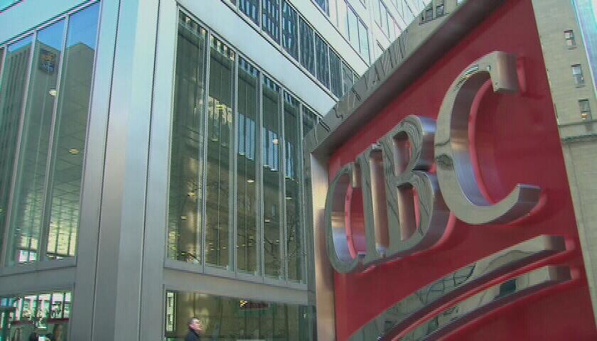A CIBC sign is seen
