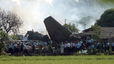 Indonesia plane crashed