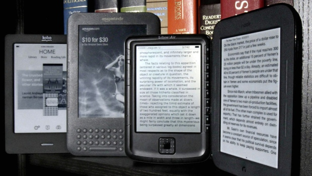 The Kobo eReader Touch and Amazon Kindle e-readers