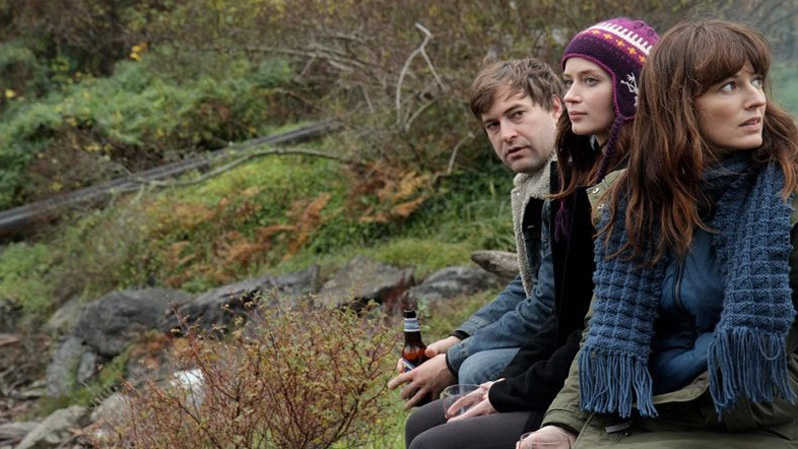 Mark Duplass, Emily Blunt and Rosemarie DeWitt in IFC Films' 'Your Sister's Sister.'