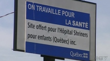 A press conference will be held on Thursday, July 8, 2010, to announce plans for the Montreal Shriners Hospital.