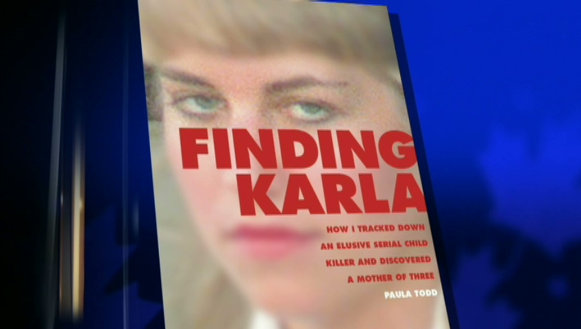 Journalist Paula Todd released an e-book this week, titled 'Finding Karla,' where she tracked down Karla Homolka and discovered the convicted killer is now a mother of three living on the Caribbean island of Guadeloupe.