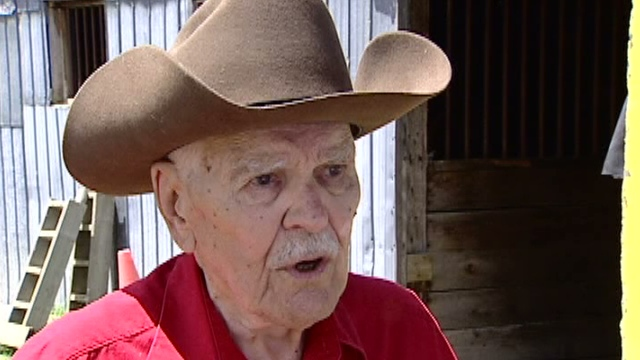 Bill Monovan started riding horses while he was in his 80s.