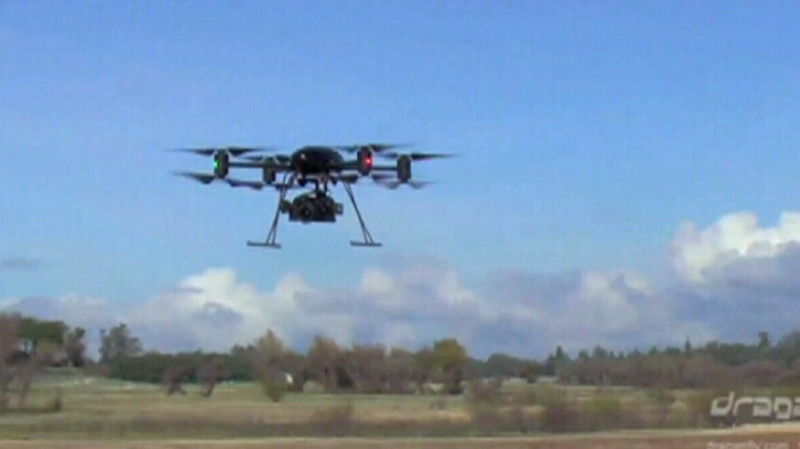 A Saskatoon-based company offers people a chance to fly their own drones.