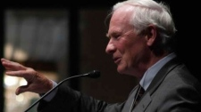 President and Vice-Chancellor of Waterloo University, David Johnston is seen in this image provided by the University of Waterloo. The prime minister is expected to announce the appointment of Johnston as Canada's next governor general.