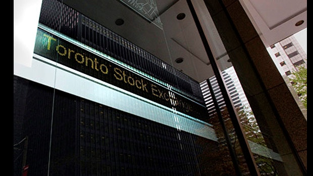 TSX falls on weaker commodities