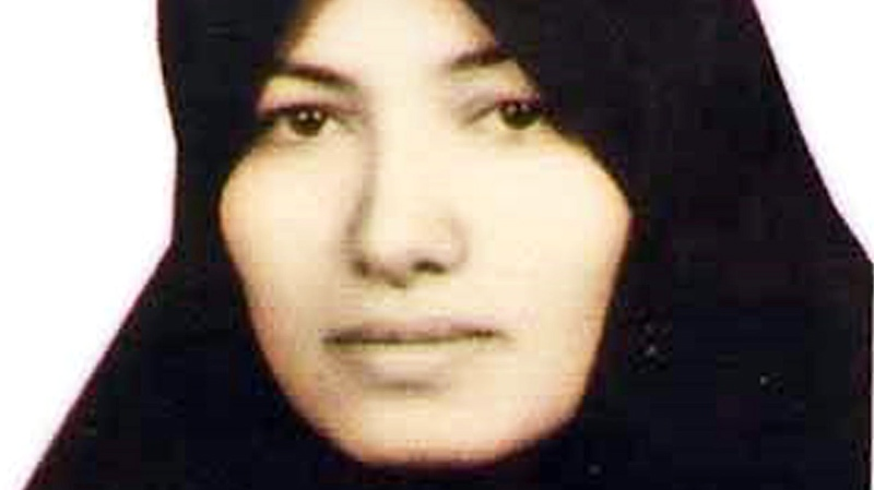 This undated image made available by Amnesty International in London, Thursday July 8, 2010, shows Sakineh Mohammadi Ashtiani, a mother of two who is facing the punishment of stoning to death in Iran, on charges of adultery. (AP / Amnesty International)