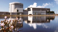 The Point Lepreau nuclear station New Brunswick