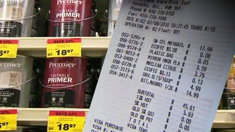 A new eco fee came into effect on thousands of products in Ontario, July 1, 2010.