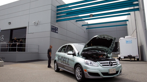 Mercedes-Benz facility dedicated to the development and production of fuel cell stacks in B.C.