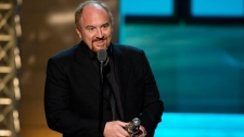 Comedian Louis C.K. on stage