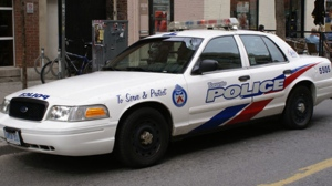 A Toronto police car is pictured in this Monday, Sept. 5, 2011, file photo. (CP24/Chris Kitching)