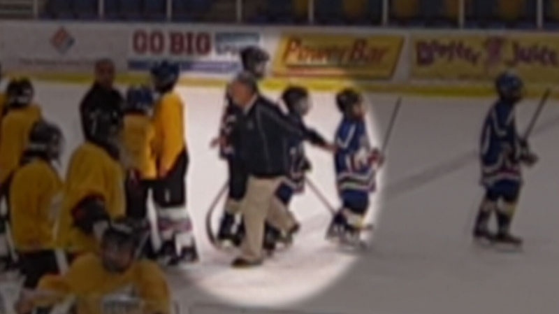 UBC Hornets minor hockey coach Martin Tremblay was found guilty for tripping and injuring a Richmond Steel player following a gold medal game. (CTV)
