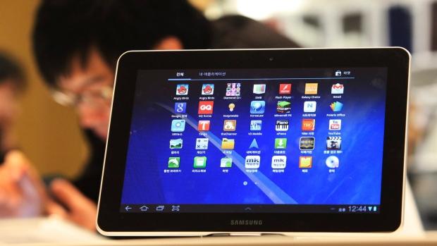 Samsung Electronics' Galaxy Tab 10.1