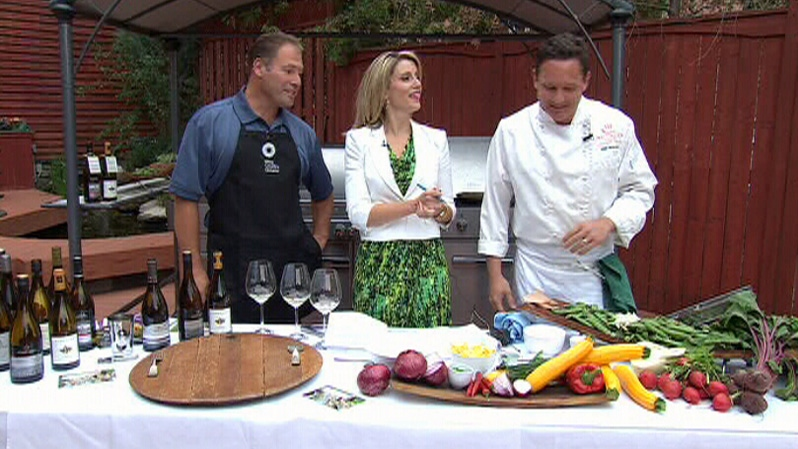Brian Schmidt of Vineland Estates Winery, and Erik Peacock of Wellington Court Restaurant, speak on Canada AM, Wednesday, June 27, 2012.