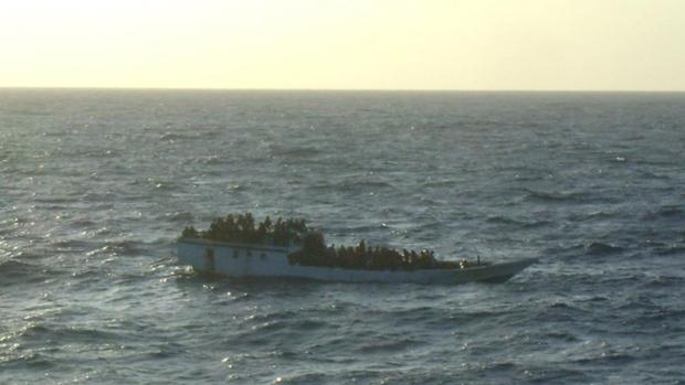 Australia ship capsizes