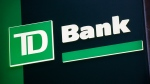 A sign for TD Bank is shown in New York, Nov. 12, 2009. (AP / Mark Lennihan)