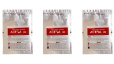 "Activa RM, one of Ajinomoto's transglutaminase, or ""meat glue"", preparations"