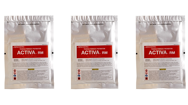 Activa RM, one of Ajinomoto's transglutaminase preparations