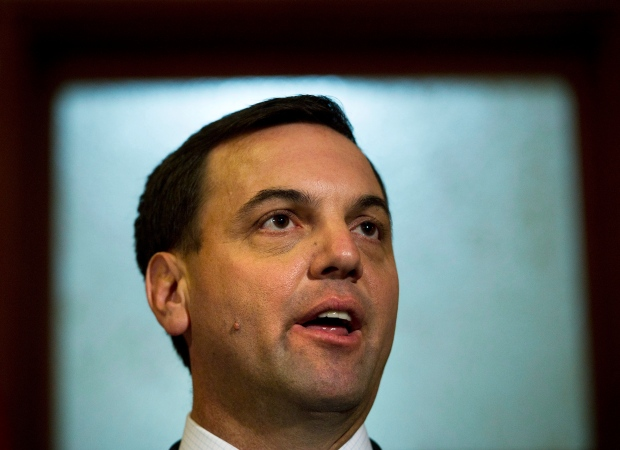 Tim Hudak in Toronto on June 20, 2012.