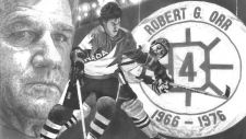 Sketch of Bobby Orr