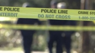 Police tape is shown in a file photo.