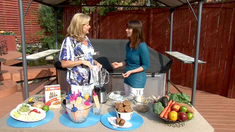 Missy Chase Lapine shares healthy recipes that can boost your fiber intake on Canada AM, Thursday, June 28, 2012.