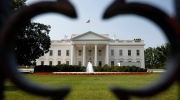 The White House is seen in Washington, Thursday, June 28, 2012. (AP / Pablo Martinez Monsivais)