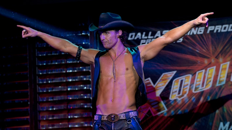 Matthew McConaughey in Warner Bros. Pictures Canada's 'Magic Mike.'
