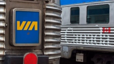 Woman found dead on Via Rail train